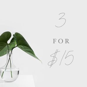 Other - 3 for $15 sale